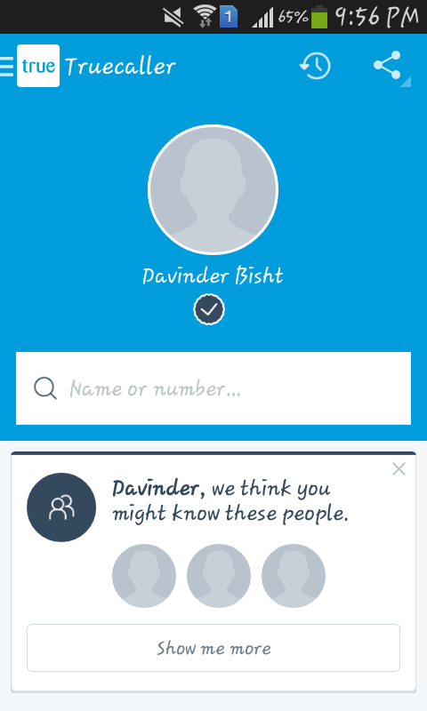 Truecaller will help you identify unknown caller's details