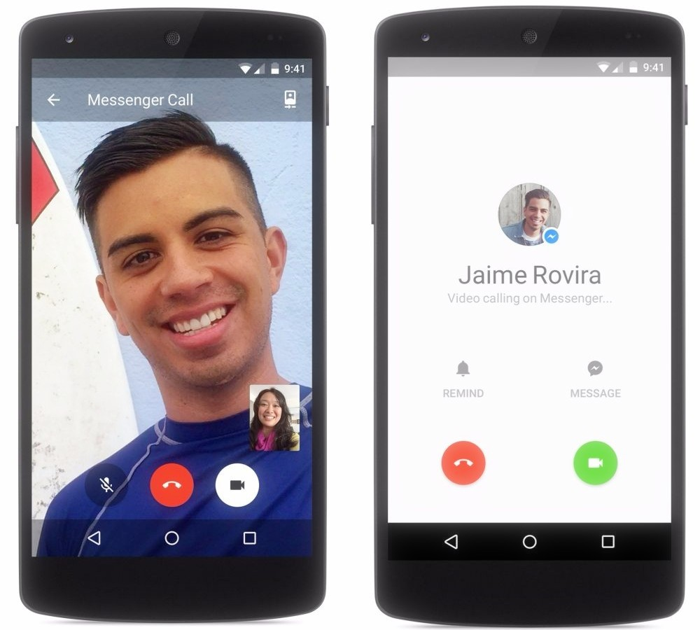Facebook Adds Free Video Calling To Messenger