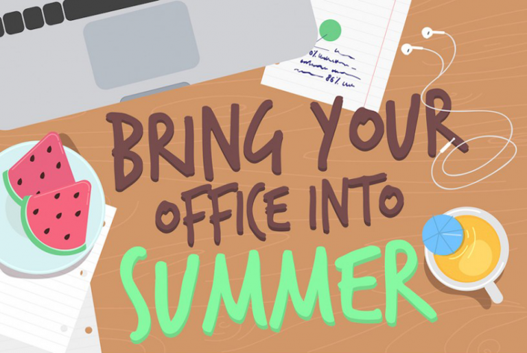 How to Enjoy Summer in the Office