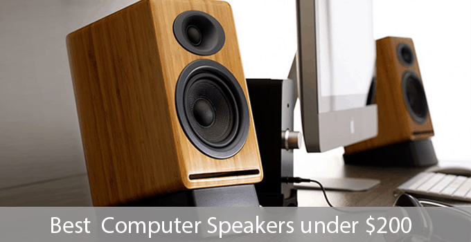 7 Greatest Computer Speakers under $200 that you cannot afford to miss