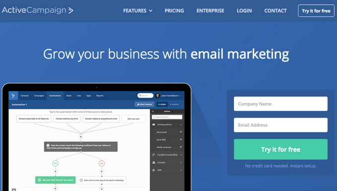 Active Campaign - Best Email Marketing Software