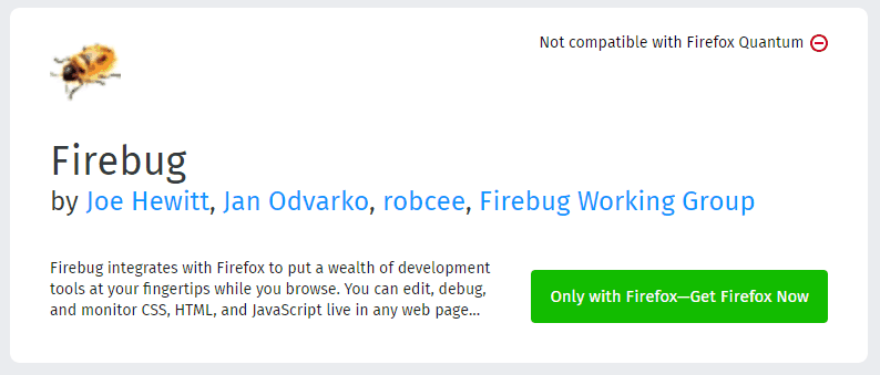 Firebug - Browser Extensions for Powerful SEO