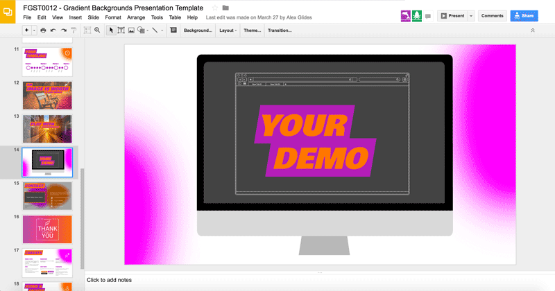 Demo - Making the Most of Google Slides with FGST