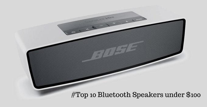 Best #Top 10 Portable Bluetooth Speakers under $100