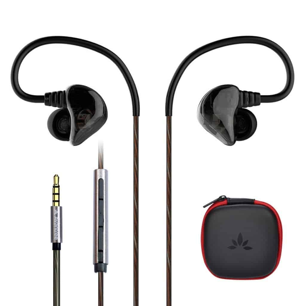 Avantree D18 Dual Driver - Best Earbuds Under $30: Top 10 Handpicked Cheap Earbuds