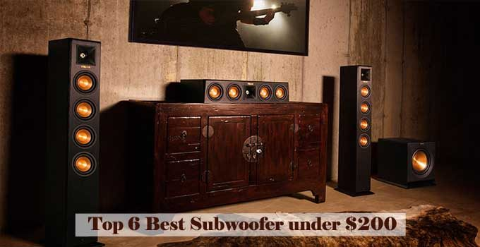 Top 6 Best Subwoofer under $200