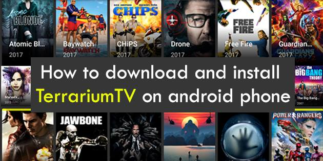 How to download and install TerrariumTV on android phone